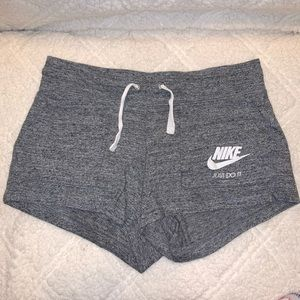 Nike Grey Shorts with Pockets
